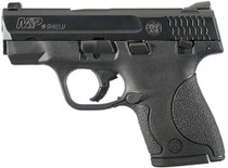 "Smith & Wesson M&P Shield 9mm, 3"" Barrel, Black Melonite Finish, 7rd and 8rd Mags"