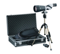Leupold Kenai HD Spotting Scope 25-60X80mm And 30X80mm Straight Eyepiece, Waterproof, Compact Tripod And Case