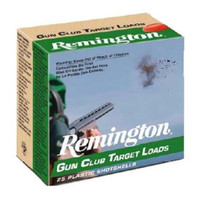 "Remington Gun Club Target Load 12 ga 2.75"" 1-1/8oz 7.5 Shot 25Bx/10Cs"
