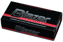 CCI Blazer .40 SW 165 Gr, Total Metal Jacket, Aluminum Case, 50rd/Box