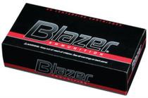 CCI Blazer .40 SW 165 Gr, Total Metal Jacket, Aluminum Case, 50rd Box