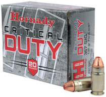 Hornady Critical Duty .357 Sig 135 Grain FlexLock 20rd/Box