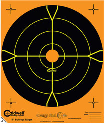 "Caldwell Orange Peel Targets 8"" Bullseye 25 Pack"