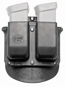 Fobus Double Mag Pouch Glock 10mm/45 ACP, Black