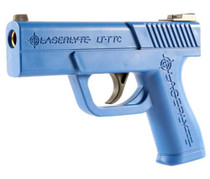 LaserLyte Trigger Tyme Training Pistol Compact (S&W Shield Size) Poly Blue