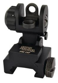 Pro Mag M16/AR15 A2 Flip Up Dual Aperture Rear Sight Black