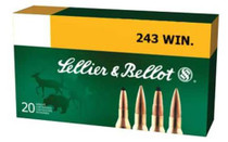 Sellier and Bellot 243 Winchester 100 SP 20Rd/Box