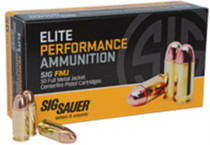 Sig Ammo 357Mag 125Gr Elite Ball FMJ 50rd/Box