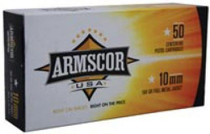 Armscor 10mm 180gr, FMJ, 50rd/Box