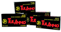 Tulammo .40 SW 180gr, Full Metal Jacket, Steel Case, 50rd/Box