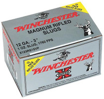 "Winchester Super-X Rifled Lead Slug12 Ga, 3"", 1oz Slug, 15rd/Box"