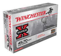 Winchester Super X 45-70 Gov Jacketed Hollow Point 300gr, 20rd Box