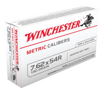 Winchester Ammo Metric 7.62x54mm Russian Soft Point 180gr, 20Box/20Case
