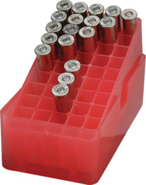 MTM Case Gard E-50 Slip-Top Boxes .38 & .357 Magnum Red