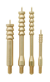 Gunslick Cleaning Benchrest Brass Jag Tips 10/12 Gauge