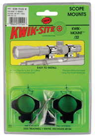 "Kwik-Site 22 Mount Grooved Receiver Rifle 1"" 11mm Mount Matte"
