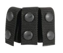 "Blackhawk Nylon Belt Keepers For 2"" Belts Set of 4 Black"