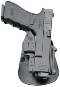Fobus Paddle Springfield XD, 9/.40/.357, Taurus 45 Compact, Black, Right Hand