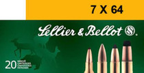 Sellier and Bellot 7X64 173 Spce 20Rd/Box