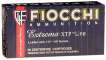 Fiocchi Extrema 9mm 115gr, XT Hollow Point, 25rd/Box