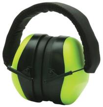 Pyramex Glasses VentureGear PM8031 Ear Muffs NRR 26db Hi-Viz Lime Green Clampacked