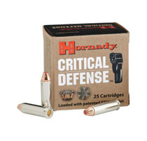 Hornady Critical Defense .32 H&R, 80gr, Flex Tip Expanding, 25rd/Box