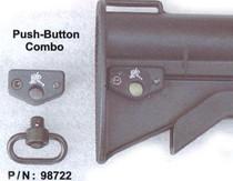Knights Push-B Swivel & M4 Butt Mnt.