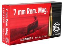 Geco 7mm Rem Mag 155gr, Expanding, 20rd/Box