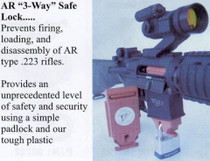 Knights 3-Way Safe Lock for SR-15's