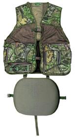 Primos Gobbler Hunting Vest Vest Camo Large/X-Large Mesh and Treehide