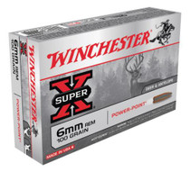 Winchester Super X 6mm Remington Power-Point 100gr, 20rd Box