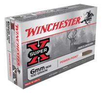 Winchester Super X 6mm Remington Power-Point 100gr, 20rd Box