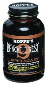 Hoppe's #9 Bench Rest Copper Solvent 4 oz