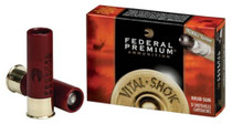 "Federal Vital-Shok 12 Ga, 3"", 1700 FPS, 1oz, TruBall Slug, 5rd/Box"