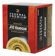 Federal Premium Personal Defense Judge, .410 Gauge, 2.5 Inch, No. 4 Shot, 20rd Box