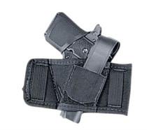 "Uncle Mike's Sidekick Baby Bet Belt Slide, .22/.25/.380 Autos, Belt to 1.5"", Black, Ambi"