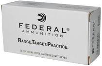 Federal Federal Range And Target Ammunition 38 Special 130gr, FMJ 1000rd/Case