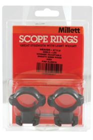 Millett Angle-Loc 30mm High 30mm Diameter Gloss Black
