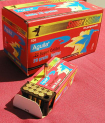 Aguila Super Colibri .22LR Low Noise, 590 FPS, 50rd/Box