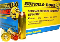 Buffalo Bore Ammunition 45 Colt Lead-Free Barnes XPB 225gr, 20rd/Box