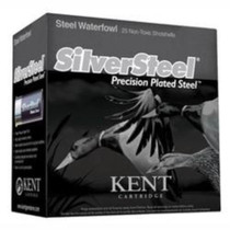 "Kent Silver Steel 12 Ga, 3.5"", 1-1/2 oz, 2 Shot, 250rd/Case (10 Boxes of 25rd)"