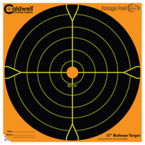 "Battenfeld Technologies Caldwell Orange Peel Flake Off Bullseye Targets 12"" 100 Per Package"