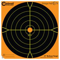 "Battenfeld Technologies Caldwell Orange Peel Flake Off Bullseye Targets 12"" 100 Per Package"