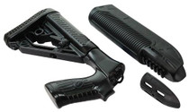 Adaptive Tactical EX Performance Forend & M4-Style Stock, Black