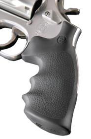 Hogue Dan Wesson Large Frame Revolver Grip, Finger Grooves Matte Black