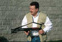 Tac-Star Tactical Sling, Shotgun Not Included, Swivel Size Black