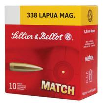 Sellier and Bellot .338 Lapua Mag Hpbt 250Gr 10Rd/Box