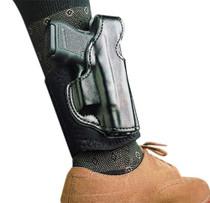 Desantis Die Hard Ankle Rig GLOCK 26,27,33 Leather Black