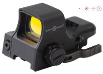 Sightmark Ultra Dual Shot With Laser, 1x33x24mm Obj Unlimited Eye Relief, 2 MOA, Black