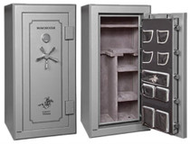 Winchester Safes Legacy 26 Gun Safe, Electric Lock Granite (Freight approximate, actual may vary)